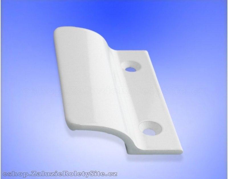 Madlo balkónových dveří - hliníkové bílé