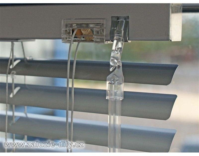 Háček ovládací tyčky interiérových žaluzií